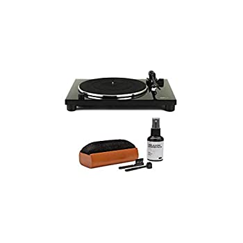 Music Hall MMF-1.3 Turntable with Built-in Phono Preamp and Audio-Technica AT3600L Cartridge Bundle with Knox Gear Vinyl Record Care System Package  2 Items