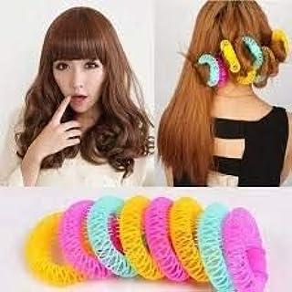 Buy Aasa Hair Curlers For Short Hair Hair Rollers Set Sleep Hair Rollers Dry Hair Curler For Short Or Long Fine Hair Multicolor Set Of 8pcs 30grams Pack Of 1 Online At