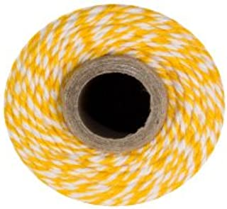 Bakers Twine - 240 Yards 4 ply Cotton (Yellow & White)