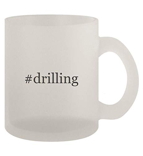 #drilling - 10oz Frosted Coffee Mug Cup, Frosted