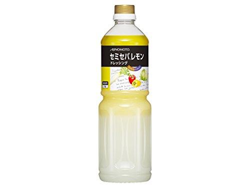 「セミセパR」レモンドレッシング1Lボトル×6
