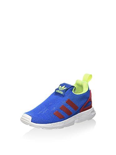 adidas Unisex-Kinder Zx Flux 360 I Slip-On, blau/rot/gelb, 25 EU
