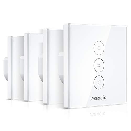 profesional ranking [Controllable LED]Interruptor de persiana Alexa, control de WiFi de interruptor inteligente Maxcio y … elección