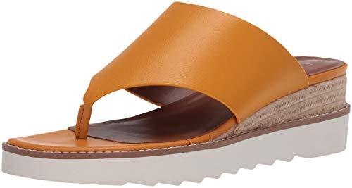 Franco Sarto Damen Cramer Keilabsatz-Sandale, Goldenrod, 36.5 EU