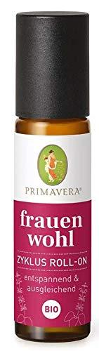 PRIMAVERA Frauenwohl Zyklus Akut Roll-On bio 10 ml - Aromatherapie für Unterwegs - entspannend, entkrampfend - vegan