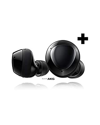 Samsung Galaxy Buds+ Plus, True Wireless Earbuds w/improved battery and call quality (Wireless Charging Case included), Black – US Version by Samsung