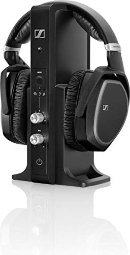 Sennheiser RS 195-U Cuffia Wireless, Tecnologia Digitale, Nero