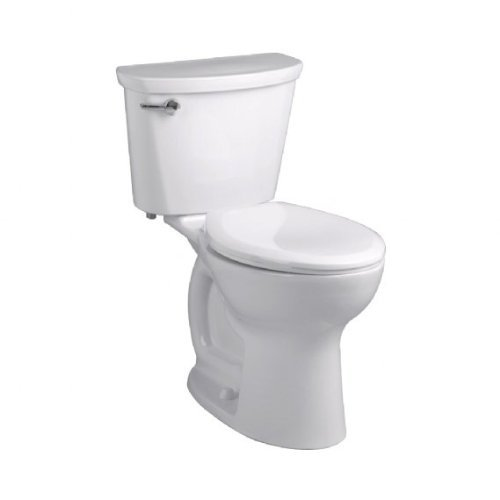 "American Standard Cadet PRO Compact Right Height Elongated 14"" Rough-In 1.28 Gpf Toilet, White"