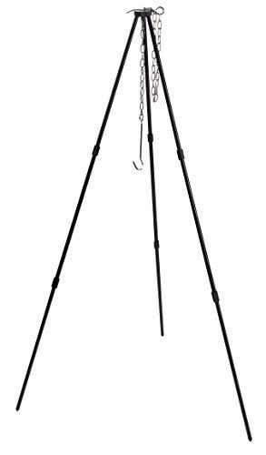 キャンピングムーン(CAMPING MOON) トライポッド M 3段折り 焚き火三脚 最大耐重量15KG 収納ケース付き MS-...