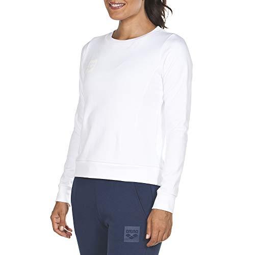 ARENA Damen Sweatshirt Essential, White, M