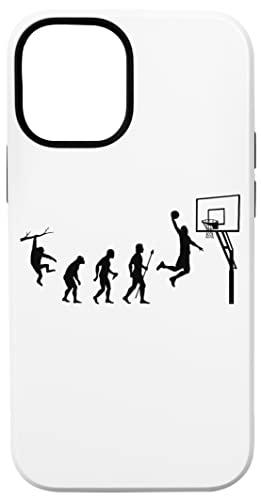 Baloncesto Evolución Caja del Teléfono para iPhone 12 Mini Concha Dura con Capa De Silicona en el Interior Phone Case
