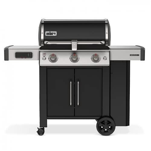 Weber 61015729 Genesis II EX-315 - Barbecue a gas, colore: Nero