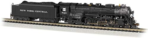 Bachmann Trains - 4-6-4 Hudson - DCC ECONAMI Sound Value-Equipped Locomotive - New York Central #5420 (as Delivered, Roman Lettering) - N Scale (53652)