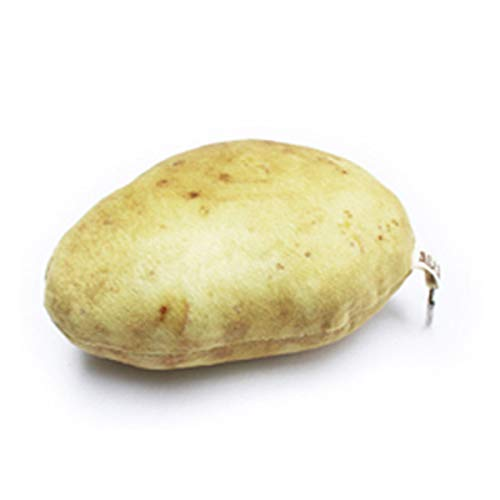Glovion Potato Press Toy, Cute Plush Stuffed Toy ,Vegetables Decoration Toys for Potato Lover Real Potato Size 5' in