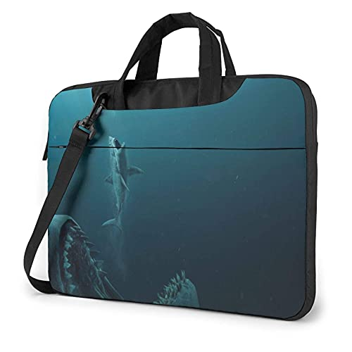 XCNGG The Meg Laptop Bag Tablet Portable Briefcase Protective Case Cover Messenger Bags 13 inch