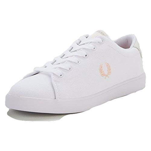Fred Perry - Chaussures Femme B5154W Lottie H24 Coral - Orange-Rose, 38 EU FP