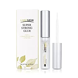 in budget affordable LASHVIEW Eyelash Adhesive, Latex Free, Strong Hold, White Eyelash Adhesive, False Eyelash Adhesive, Eyelashes …