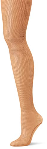 Capezio Damen Professional Fishnet Seamless Tight Strumpfhose, Suntan, X-Large