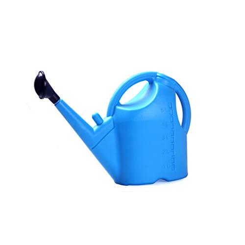 MagiDeal Pote Largo de La Caldera de La Regadera Del Mes 5L / 9L para El Jardín de Ministerio Del Interior - 5L azul