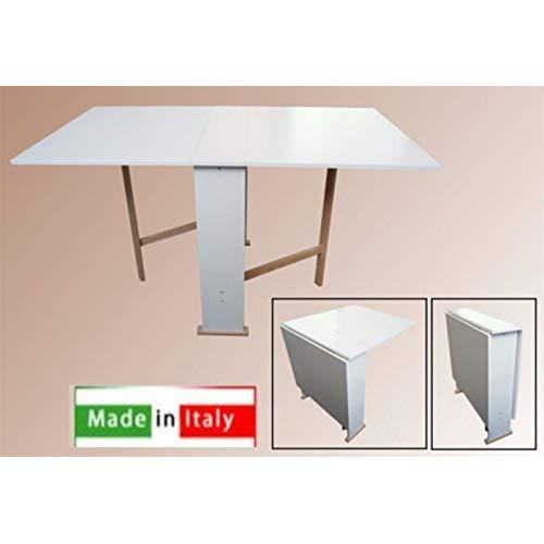 Liberoshopping Tavolo Susanna Pieghevole Formica CM.75X140 (Bianco)