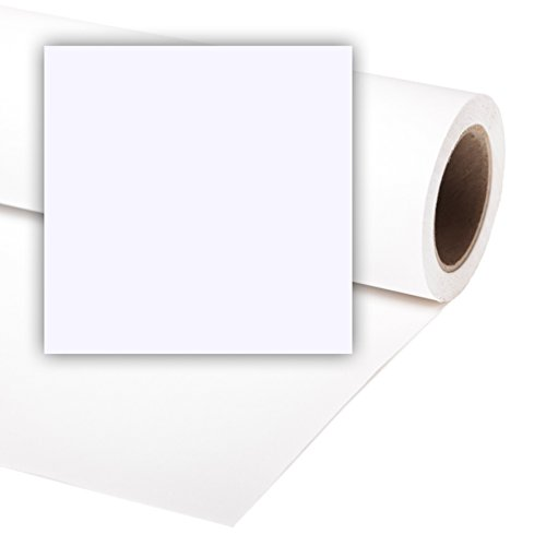 Colorama LL CO165 Fondale in Carta, 2,7 x 11 mt, Artic Bianco