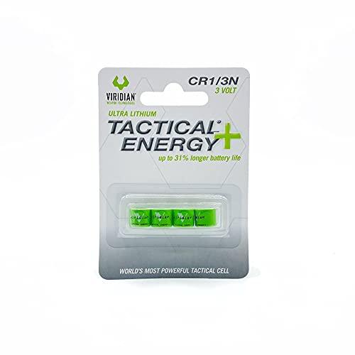 Viridian CR1/3N Tactical Energy Plus Lithium Batteries, 3 Volt (Pack...