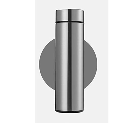 Yfanhan termos mugg med temperatur display high-end intelligent termos rån temperaturmätning mugg företag akut mobil power rånar hem,Steel color