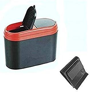 Universeller Abfalleimer Mülleimer Eimer Aufbewahrungsbox Tischmülleimer Container Müllbehälter Abfallbehälter Für Für Auto Pkw Lkw Wohnmobil Boot Garagen Inion Auto