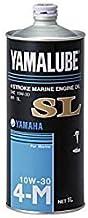 ヤマハ 4サイクル専用 マリンオイルSL 10W-30 1,0L