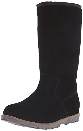 Dije California Damen Sturgis 30,5 cm (12 Zoll) hoher Stiefel, schwarz, 36 EU
