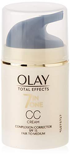 Olay Total Effects 7en1 CC Cream Hidratante Claro a Medio 50ml