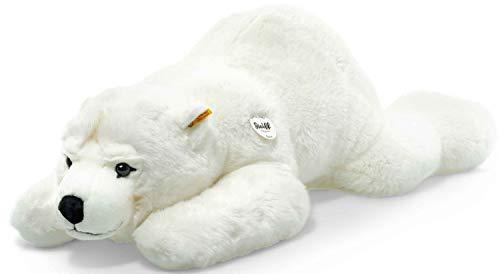 Steiff 115134 Arco Eisbaer 90 liegend Bär, WEIß