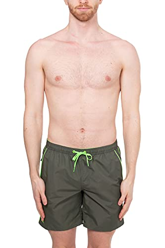 SUNDEK - Costume da Bagno Medio con Vita Elasticizzata - Taglia L