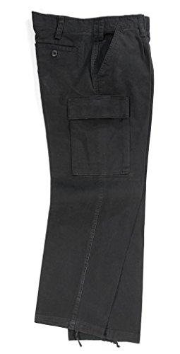 A. Blöchel Bewährte und einsatzerprobte Stoe Washed Feldhose der Deutschen Bundeswehr in Import Qualität Größen (38, Schwarz)