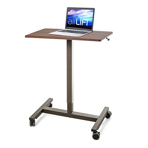 Seville Classics Pneumatic Height-Adjustable Laptop Desk