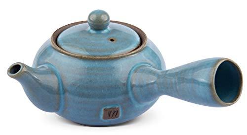 Maoci Teekanne Kyusu Himmelblau 250ml / Einhandkanne/Seitenhandkanne