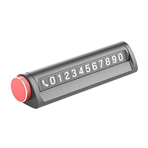 CKKHEW Multifunzionale Practical Safety Hammer Magnetic Parking Card Carta di parcheggio a Risparmio di Vita Taglierina della Sicurezza della Vita(Red)