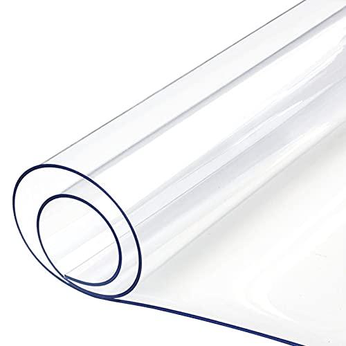 AMDHJ Alfombrilla para Silla de PVC de 3 mm de Espesor, Alfombrillas Protectoras Antideslizantes para el Suelo, 36 tamaños (Color : 3mm, Size : 90x180CM)