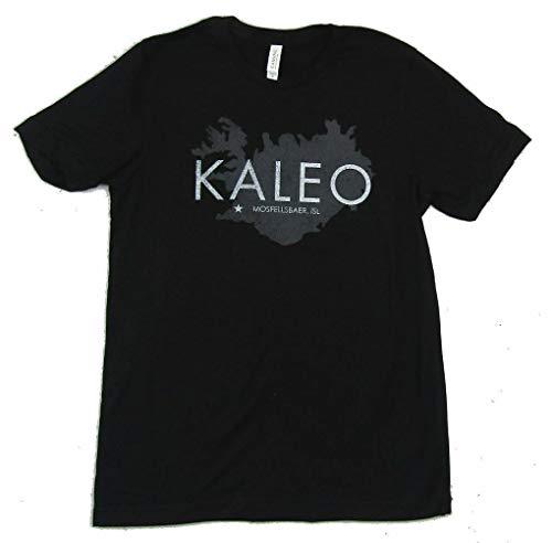 MN Kaleo IJsland Mosfellsbaer zwart t-shirt band