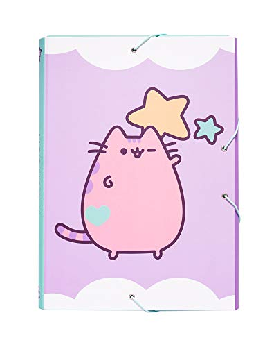 Grupo Erik Editores Pusheen the Cat 2 - Carpeta solapas, 34 x 25.5 cm