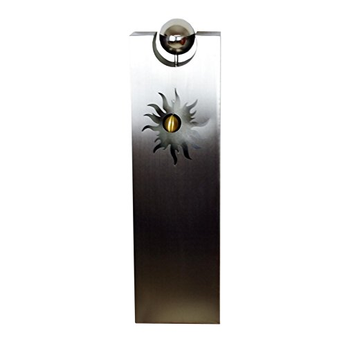 Casablanca sierzuil zon roestvrij staal, geborsteld 85 cm