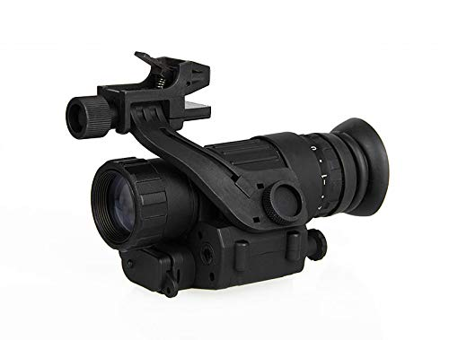 E.T Dragon PVS-14 Digital Night Vision Goggle IR Night Vision Monocular with J-Arm Headset Adapter Black