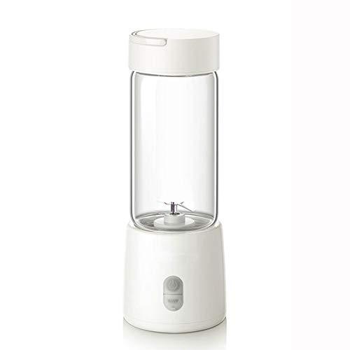 ZXSM Mini licuadoras de Alimentos pequeñas, licuadora portátil Activa con Tapa para Beber, licuadora Profesional de encimera para Cocina