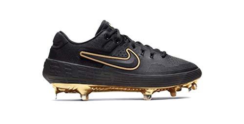 Nike Zoom Hyperdiamond 3 Elite Black-Gold AV3043-003 Women's Softball Cleats 9 US