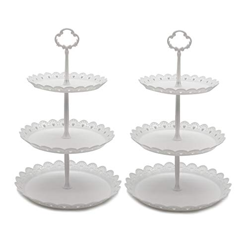 Set of 2 Pcs 3-Tier Cake Stand by Agyvvt