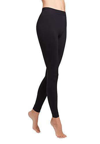 Wolford Damen Leggings (LW) Velvet 100 leg support, 10 DEN,black,Small (S)