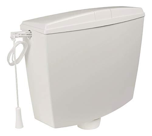 Hochhänge Spülkasten | Kunststoff | 9 Liter | Weiß