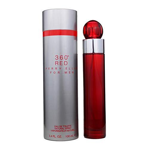 Perry Ellis 360 Red 100ml - eau de parfum (Hombres, Mandarin