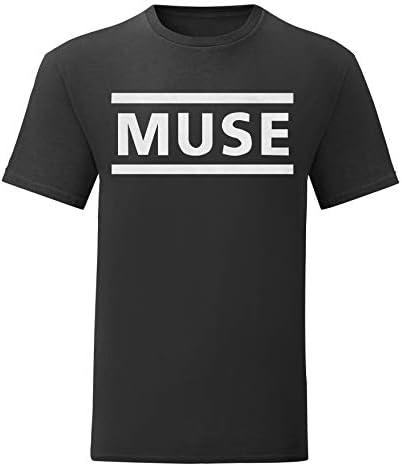Camiseta Hombre - Muse t-Shirt Rock Band 100% algodón