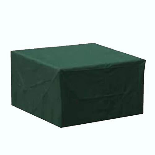 Garden Furniture Covers, Waterproof, Anti-UV, Heavy Duty 210D Oxford Fabric Rattan Furniture Cover for Cube Set, Patio, Outdoor Patio Table Cover (Size : 123 * 72 * 61cm)